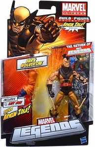 Marvel Legends 2012 Series 2 Action Figure Dark Wolverine {Unmasked Variant} [Arnim Zola Build-A-Figure Piece]
