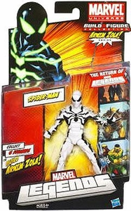 Marvel Legends 2012 Series 2 Action Figure Spider-Man {White Suit Variant} [Arnim Zola Build-A-Figure Piece NOT INCLUDED]