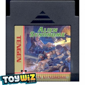 Nintendo Entertainment System NES Played Cartridge Game Alien Syndrome