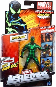 Marvel Legends 2012 Series 2 Action Figure Spider-Man {Black & Green Suit} [Arnim Zola Build-A-Figure Piece NOT INCLUDED]