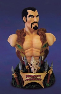 Comic Books Diamond Select Kraven the Hunter Rogues' Gallery Bust