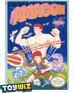 Nintendo Entertainment System NES Played Cartridge Game Amagon