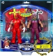 WWE Wrestling Action Figures & Masks Wrestlemania 21