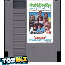 Nintendo Entertainment System NES Played Cartridge Game Anticipation