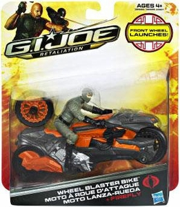 GI Joe Retaliation Movie Alpha Vehicle Wheel Blast Bike with Firefly Action Figure