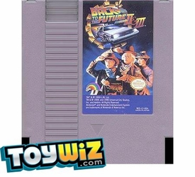 Nintendo Entertainment System NES Played Cartridge Game Back to the Future Part II & III
