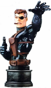 Comic Books: Bowen Designs Mini-Bust: Nick Fury - Stealth