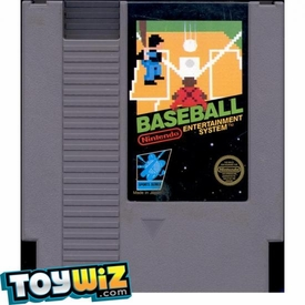 Nintendo Entertainment System NES Played Cartridge Game Baseball