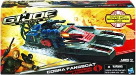 GI Joe Retaliation Movie Bravo Vehicle Cobra Fang Boat with Swamp Viper Action Figure