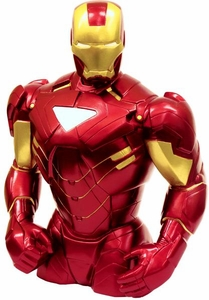 Monogram Marvel 7.5 Inch Bust Bank Iron Man