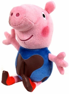 Ty Peppa Pig UK Exclusive Beanie Muddy Baby George
