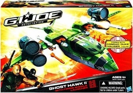 GI Joe Retaliation Movie Delta Vehicle Ghost Hawk II with Conrad Duke Hauser Action Figure