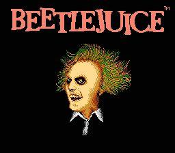 Nintendo Entertainment System NES Played Cartridge Game Beetlejuice