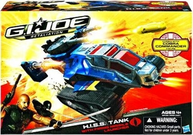 GI Joe Retaliation Movie Delta Vehicle H.I.S.S. Tank with Cobra Commander Action Figure
