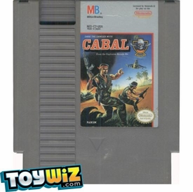 Nintendo Entertainment System NES Played Cartridge Game Cabal