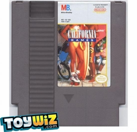 Nintendo Entertainment System NES Played Cartridge Game California Games