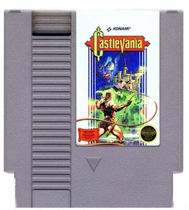 Nintendo Entertainment System NES Played Cartridge Game Castlevania