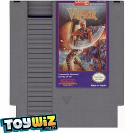 Nintendo Entertainment System NES Played Cartridge Game Code Name: Viper