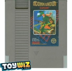 Nintendo Entertainment System NES Played Cartridge Game Commando