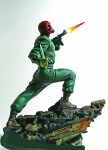 Marvel Bowen Designs 12 Inch Action Statue Red Skull Pre-Order ships April