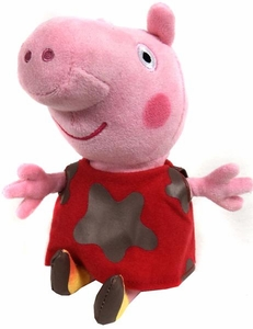 Ty Peppa Pig UK Exclusive Beanie Muddy Baby Peppa