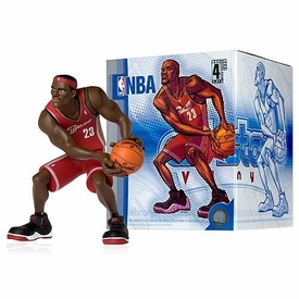 Upper Deck Authenticated All Star Vinyl Figure LeBron James (Red Away Jersey) Limited to 1500 Pieces