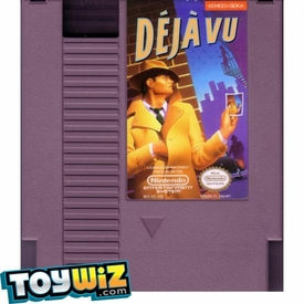 Nintendo Entertainment System NES Played Cartridge Game Deja Vu: A Nightmare Comes True