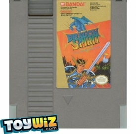 Nintendo Entertainment System NES Played Cartridge Game Dragon Spirit: The New Legend
