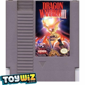 Nintendo Entertainment System NES Played Cartridge Game Dragon Warrior III