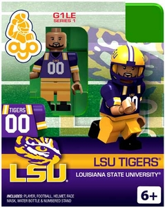 OYO College Football Building Brick Minifigure LSU Tigers