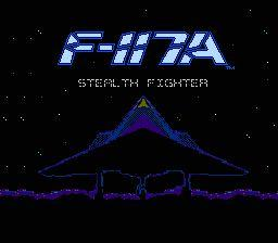 Nintendo Entertainment System NES Played Cartridge Game F-117A Stealth Fighter