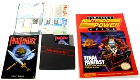 Nintendo Entertainment System NES Played Cartridge Game Final Fantasy [With Nintendo Power Guide] Awesome Package!