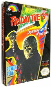 Nintendo Entertainment System NES Factory Sealed Cartridge Game Friday the 13th RARE!