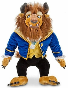 Disney Exclusive Beauty and the Beast 17 Inch Plush Figure Beast