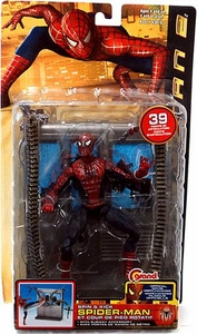 Spider-Man 2 Movie Action Figure Spin & Kick Spider-Man