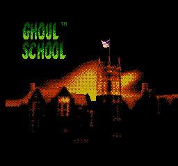 Nintendo Entertainment System NES Played Cartridge Game Ghoul School