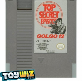 Nintendo Entertainment System NES Played Cartridge Game Golgo 13: Top Secret Episode