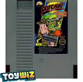 Nintendo Entertainment System NES Played Cartridge Game Gotcha! The Sport!