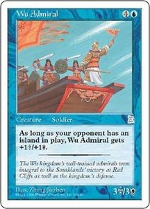 Magic the Gathering Portal Three Kingdoms Single Card Uncommon #57 Wu Admiral