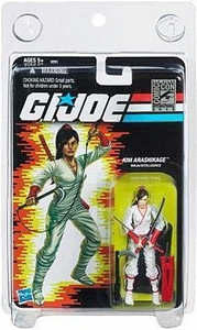 Hasbro GI Joe SDCC 2012 San Diego Comic-Con Exclusive Action Figure Kim Arashikage [White Suit Version]