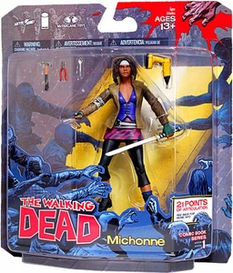 McFarlane Toys Walking Dead COMIC Series 1 Action Figure Michonne