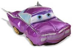 Disney / Pixar CARS Movie Smack & Yak Plush Figure Purple Ramone