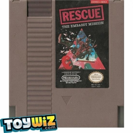 Nintendo Entertainment System NES Played Cartridge Game  Rescue: The Embassy Mission