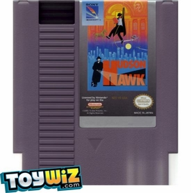 Nintendo Entertainment System NES Played Cartridge Game Hudson Hawk