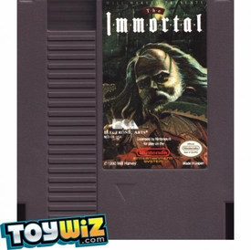 Nintendo Entertainment System NES Played Cartridge Game The Immortal