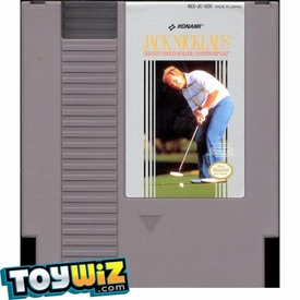 Nintendo Entertainment System NES Played Cartridge Game Jack Nicklaus' Greatest 18 Holes of Major Championship Golf