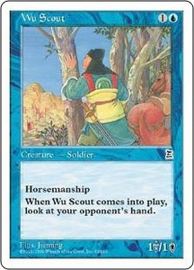 Magic the Gathering Portal Three Kingdoms Single Card Common #62 Wu Scout