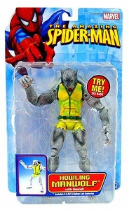 The Amazing Spider-Man Action Figure Howling Manwolf with Sound