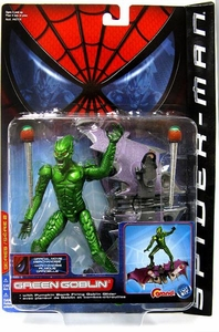 Spider-Man Movie ToyBiz Action Figure Green Goblin [Pumpkin Bomb Goblin Glider]