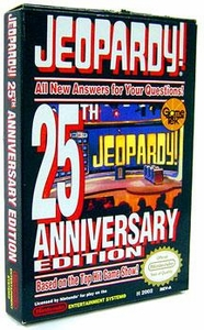 Nintendo Entertainment System NES Complete Opened Cartridge Games Jeopardy 25th Anniversary Edition